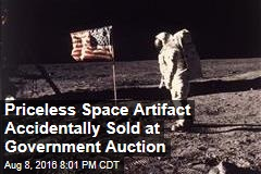 Priceless Space Artifact Accidentally Sold at Government Auction