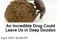 An Incredible Drug Could Leave Us in Deep Doodoo