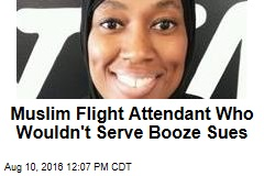 Muslim Flight Attendant Who Wouldn't Serve Booze Sues