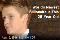 Meet the World's Newest Billionaire