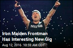 Iron Maiden Frontman Has Interesting New Gig