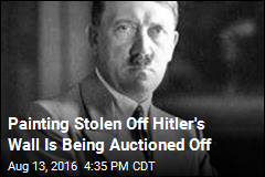 Painting Stolen Off Hitler's Wall Is Being Auctioned Off