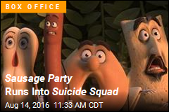 Sausage Party Has $33.6M Romp