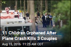 11 Children Orphaned After Plane Crash Kills 3 Couples