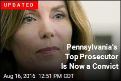 Pennsylvania's Top Prosecutor Is Now a Convict