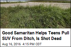 Good Samaritan Helps Teens Pull SUV From Ditch, Is Shot Dead