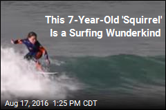 7-Year-Old Hangs 10 Like the Pros