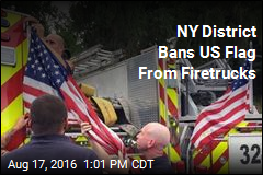 NY District Bans US Flag From Firetrucks