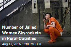 Number of Jailed Women Surges as Male Inmates Decline