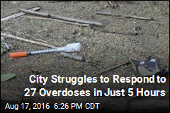West Virginia City Has 27 Overdoses in 5 Hours