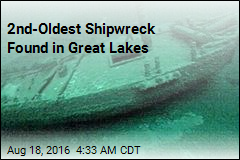 2nd-Oldest Shipwreck Found in Great Lakes