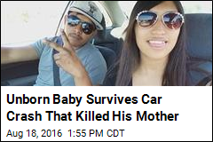 Woman Dies in Car Crash, But Her Unborn Child Survives