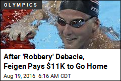 USA's Feigen Pays $11K to Avoid Charges Over 'Robbery'