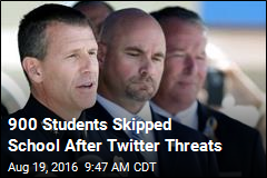 900 Students Skipped School After Twitter Threats