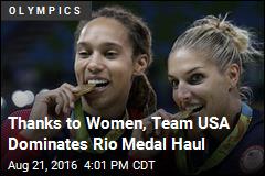 Thanks to Women, Team USA Dominates Rio Medal Haul