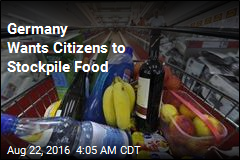Germany Wants Citizens to Stockpile Food