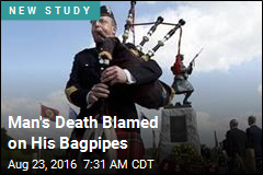 Death by Bagpipe: Man's Death Blamed on Dirty Instrument