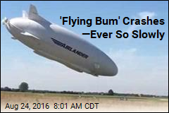World's Longest Aircraft Makes World's Slowest Nosedive