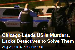 Murders Up, Detectives Down in Troubled Chicago