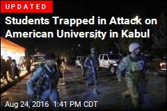 American University in Kabul Attacked by Gunmen