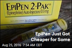 EpiPen Just Got Cheaper for Some