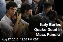 Italy Buries Quake Dead in Mass Funeral