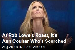 At Rob Lowe's Roast, It's Ann Coulter Who's Scorched