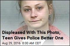After Jailbreak, Teen Gives Cops Better Mugshot