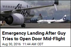 Emergency Landing After Guy Tries to Open Door Mid-Flight
