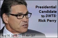 DWTS Is Putting Rick Perry In Your Living Room