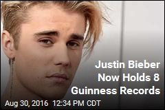 Justin Bieber Now Holds 8 Guinness Records