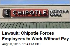 Nearly 10K Employees Sue Chipotle for Wage Theft
