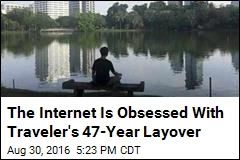 The Internet Is Obsessed With Traveler's 47-Year Layover