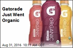 Gatorade Just Went Organic