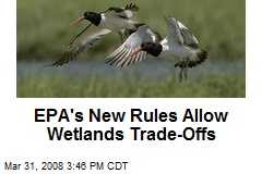 EPA's New Rules Allow Wetlands Trade-Offs