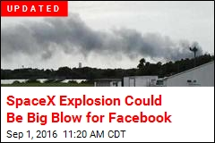 SpaceX Explosion Reported at Cape Canaveral