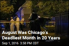 Chicago Homicides Are at a 20-Year High