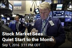 Stock Market Sees Quiet Start to the Month