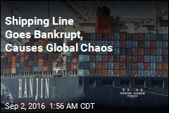 Shipping Line Goes Bankrupt, Causes Global Chaos