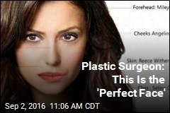Plastic Surgeon: This Is the 'Perfect Face'
