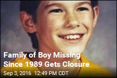 Remains of Boy Missing 27 Years Believed Found