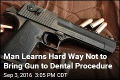 Dental Patient Thinks Gun Is Phone, Shoots Self