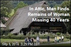 In Attic, Man Finds Remains of Woman Missing 40 Years
