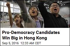 Pro-Democracy Candidates Win Big in Hong Kong