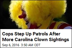 Cops Step Up Patrols After More SC Clown Sightings