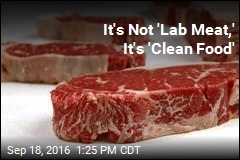 It's Not 'Lab Meat,' It's 'Clean Food'
