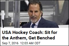 USA Hockey Coach Won't Tolerate Anthem Protests