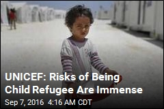 UNICEF: Half of All Refugees Are Children