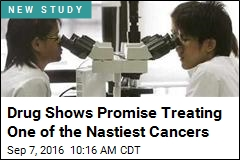 Drug Shows Promise Treating One of the Nastiest Cancers