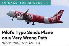 Pilot's Typo Sends Plane on a Very Wrong Path